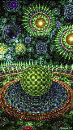 COLORS FRACTAL #fractal #colors #gif