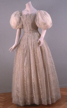 Christian Dior 1955. Evening gown