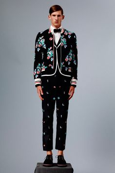 Thom Browne enlisted models Botond Cseke and Corentin Renault to star in his Spring/Summer 2015 lookbook.