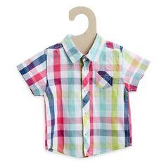 Chemise à carreaux en coton Bébé garçon - Kiabi - 7,00€