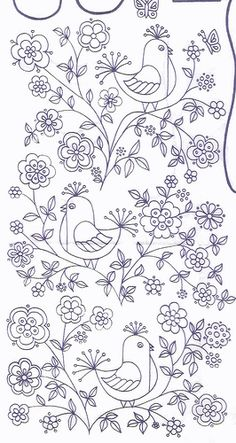 Embroidery Patterns For Kameez for Free Machine Embroidery Patterns For Beginners once Handmade Embroidery Designs For Sarees Embroidery Transfers, Crewel Embroidery, Hand Embroidery Patterns, Vintage Embroidery, Embroidery Applique, Cross Stitch Embroidery, Machine Embroidery, Embroidery Designs, Flower Embroidery