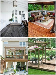 Need inspiration for outdoor living spaces? Check out ideas frm @Shelley Smith.