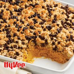 In the fall, we must have pumpkin at every meal. Pumpkin Sweet Potato Breakfast Bake is a sweet way to start the day.