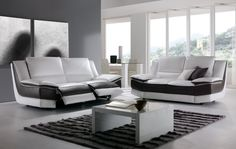 Swing Sofa by Chateau D'ax, Italy. Shown in leather. Visit website for customization options.