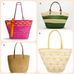 summer totes....perfect for the beach!