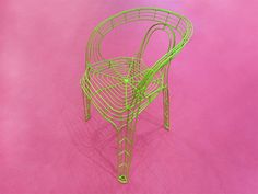 pamela wire chair