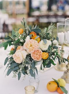 Florist: MMD Events - http://www.stylemepretty.com/portfolio/mmdevents Event Planning: NK Productions Wedding Planning - http://www.stylemepretty.com/portfolio/nk-productions Photography: Jacqui Cole Photography - jacquicole.com   Read More on SMP: http://www.stylemepretty.com/2016/12/15//