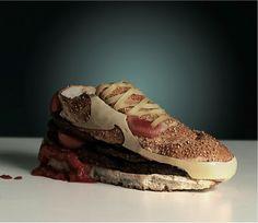 shoe food.