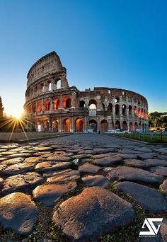 Coliseum  Colisée, Rome, Italie
