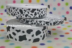 Hey, I found this really awesome Etsy listing at https://www.etsy.com/listing/208659357/3-yards-dalmation-spots-cow-print-38-in