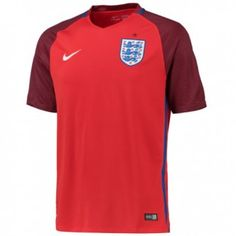 2016 England Away Red Thailand Soccer Jersey