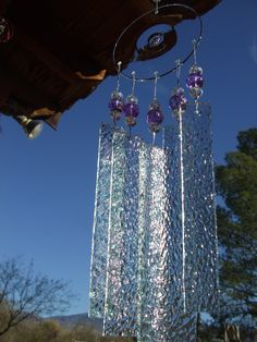 glass   windchime