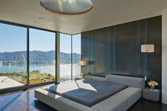 suite parentale contemporaine : chambre adulte à San Francisco par Polsky Perlstein Architects