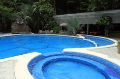 evergreen lodge pool   - Costa Rica