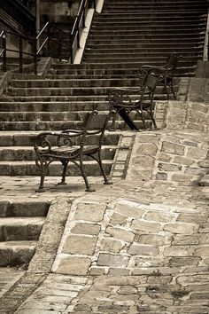 Budapest Outdoor Furniture, Outdoor Decor, Stairways, Hungary, Budapest, Park, Home Decor, Stairs, Staircases