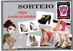 Eu vou ganhar o sorteio  @Elledakotta no blog Mi interessa,@03alexia e escolher meu sapato.