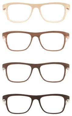 Absolutely adorable wooden eyewear by austrian label Rolf Spectacles. Cool Glasses, New Glasses, Glasses Frames, Optical Glasses, Face Framing, Fashion Accessories, Mens Fashion, Wooden Frames, Style
