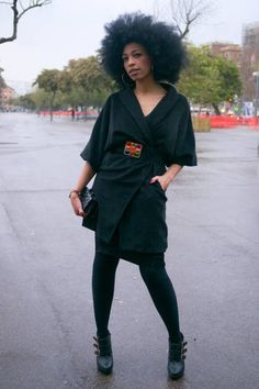 Global Street Style. Barcelona Spain....love her look