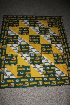 Custom Sports Team Quilts Any Size Any Team by carsondesign, $150.00