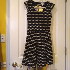 Candies dress Adorable Candids black & white dress, size small worn once! Candie's Dresses