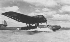Marine Francaise, Amphibious Aircraft, Air Machine, Flying Boat, Commercial Aircraft, France, Dieselpunk, World War Two, Fighter Jets
