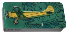 Polikarpov Po 2 Portable Battery Charger featuring the mixed media Ussr Airplane Polikarpov Po 2 by The Griffin Passant
