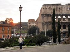Rome in the afternoon