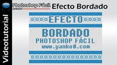 Efecto Bordado #Photoshop Fácil by Yanko0