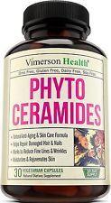 Phytoceramides Skin Care Hair Nails Anti Aging Rejuvenating 30ct -VimersonHealth