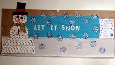 Classroom Display. Let it snow!
