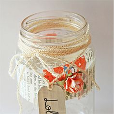 Follow this tutorial to make a memory jar. Decorate an empty jar and fill it with notes about good things that happen to you during 2013.