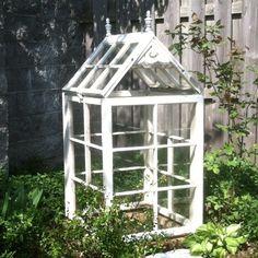 The 10 Best greenhouse ideas Old Window Greenhouse, Simple Greenhouse, Homemade Greenhouse, Outdoor Greenhouse, Cheap Greenhouse, Portable Greenhouse, Backyard Greenhouse, Greenhouse Ideas, Unique Garden Decor