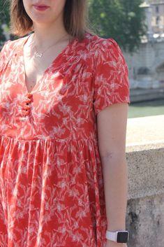 Arlette à Rome - République du chiffon - Lise Tailor Night Suit, Sewing Blogs, 50 Fashion, Maternity Wear, Blouse Designs, Floral Tops, Kids Outfits, Prom Dresses, Gowns