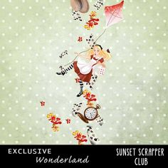 Wonderland Cluster 3 - Digital Scrapbooking Kits for the Perfect Digital Scrapbook