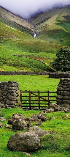 The Ireland countryside ~ by Micheal Raye