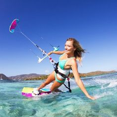 Kite Surfing! --when I visit the Philippines, nice warm waters Dub Life & Dub Vida ------ Let's go and get paid to travel the world surfing!  www.dubtravel.com to get paid on everything you already buy.  We love DubLi and for a better explanation, go to www.mycashback.guru.