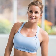 19326a2903f Let s be upfront….finding a great fitting sports bra if you are fuller  busted top is not easy.
