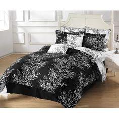 Black & White Bedding