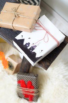 DIY Sinterklaascadeautjes inpakken