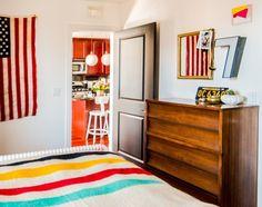 Bedroom // children's bedroom // Lauren's Warm & Light Chicago Condo - Sparse but personal
