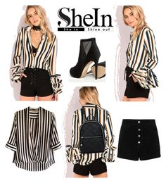 """""""Shein set"""" by sophie01234 ❤ liked on Polyvore featuring rag & bone/JEAN, Strenesse and ALDO"""