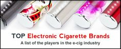 Top Electronic Cigarette Brands in the industry