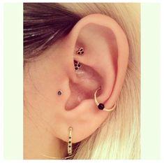 Love how delicate these piercings look