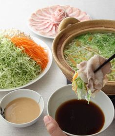MORI↡ART TI▼ Will try to make it vegetarian, concept looks delish! Diet Recipes, Cooking Recipes, Healthy Recipes, Happy Foods, No Cook Meals, Japanese Food, Food Photo, Street Food, Asian Recipes