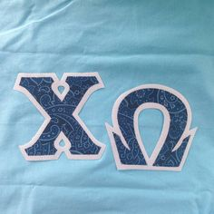 #chiomega #sorority #fraternity #newletters #customgreek #somethinggreek Create your own in our letter design center!