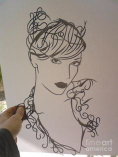 Wire Art Painting