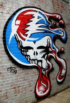 melt your face graffiti