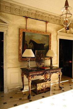 The Handbook Authority - at the ridiculously opulent Albemarle House...