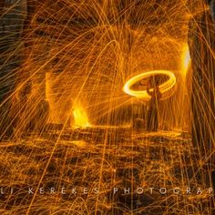 Steel wool spinning 3