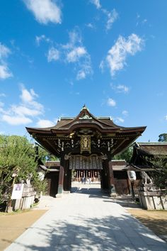 北野天満宮 2016/10/10 Japanese Shrine, Temples, Beautiful Pictures, Scenery, Exterior, Concept, Fantasy, Traditional, Mansions